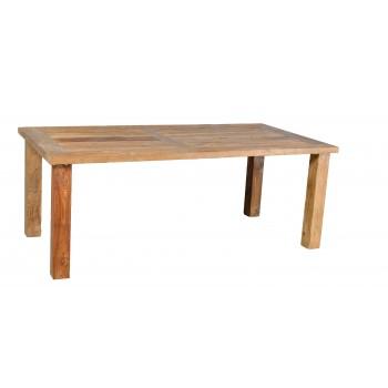 Stůl teakový 180/100 cm - Akce