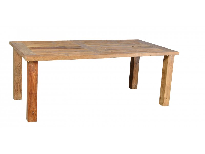 Stůl teakový 180/100 cm