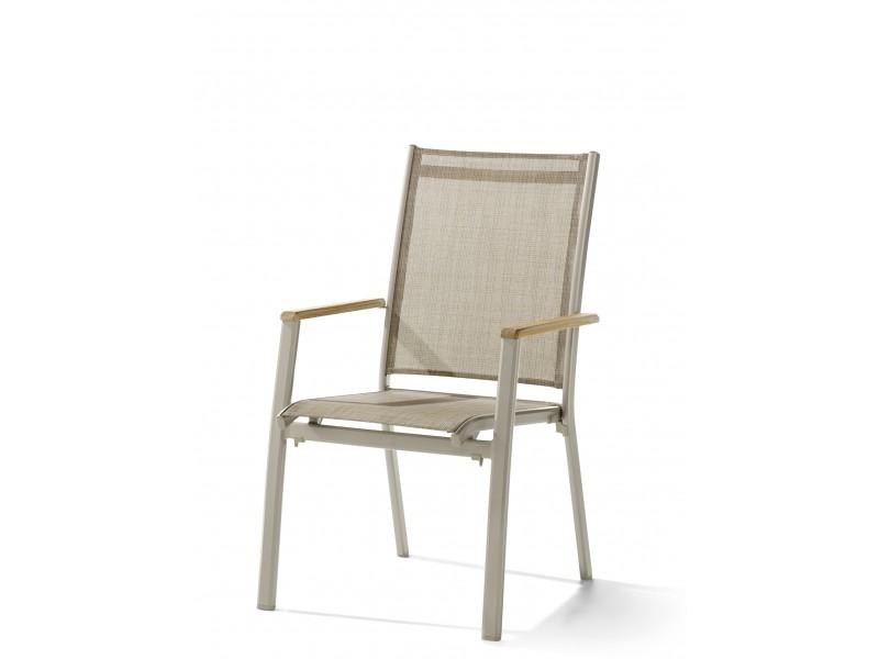 Cadiz - zahradní židle stohovatelná