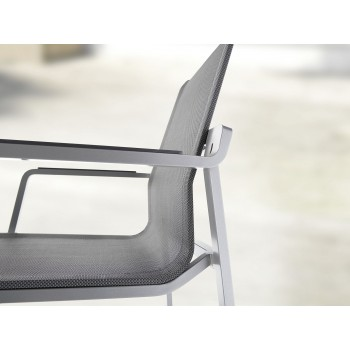 Samostatné stohovatelné zahradní židle